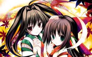 Rating: Safe Score: 79 Tags: 2girls japanese_clothes original tenmu_shinryuusai watermark User: Wiresetc