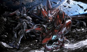 Rating: Safe Score: 129 Tags: aircraft bodysuit gundam_seed gundam_seed_destiny lunamaria_hawke mecha mobile_suit_gundam stu_dts User: Flandre93