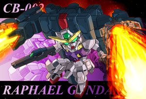 Rating: Safe Score: 8 Tags: gun mecha memento_vivi mobile_suit_gundam mobile_suit_gundam_00 robot weapon User: RyuZU