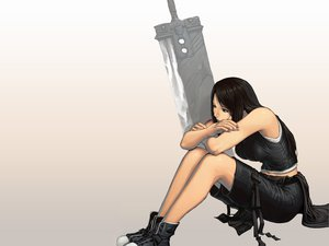 Rating: Safe Score: 47 Tags: final_fantasy final_fantasy_vii sword tifa_lockhart weapon User: 秀悟