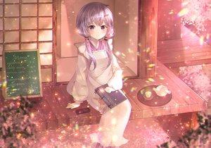 Rating: Safe Score: 29 Tags: book drink ipod japanese_clothes long_hair narami purple_eyes purple_hair twintails vocaloid voiceroid yuzuki_yukari User: RyuZU