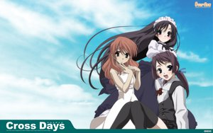 Rating: Safe Score: 9 Tags: cross_days school_days sky User: kowarenai
