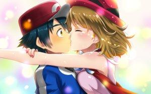 Rating: Safe Score: 45 Tags: kiss male pokemon satoshi_(pokemon) serena_(pokemon) takecha User: mattiasc02