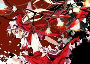 Rating: Safe Score: 71 Tags: aya003030 blonde_hair dress flandre_scarlet hat red_eyes touhou vampire wings User: opai