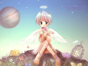 Rating: Safe Score: 3 Tags: club_maniax shiina_asako wings User: Oyashiro-sama