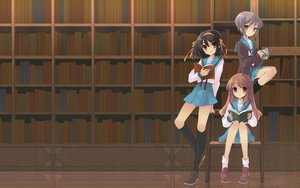 Rating: Safe Score: 52 Tags: asahina_mikuru book bow brown brown_eyes brown_hair headband kneehighs long_hair nagato_yuki ribbons school_uniform short_hair socks suzumiya_haruhi suzumiya_haruhi_no_yuutsu User: happygestapo
