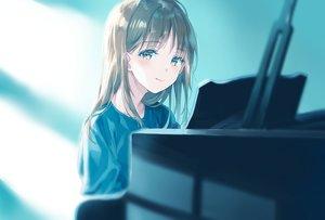 Rating: Safe Score: 67 Tags: brown_eyes brown_hair instrument long_hair original piano suzumi_konbu User: BattlequeenYume