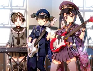 Rating: Safe Score: 106 Tags: guitar hirasawa_ui instrument k-on! nakano_azusa nyoronyoro senbon-zakura_(vocaloid) suzuki_jun User: mikuna