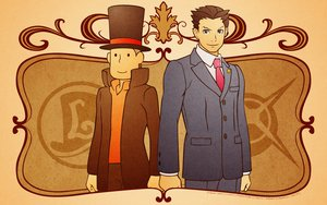 Rating: Safe Score: 38 Tags: crossover gyakuten_saiban phoenix_wright professor_layton User: garypan