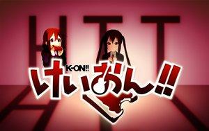 Rating: Safe Score: 18 Tags: hirasawa_yui k-on! nakano_azusa User: VitamineProduction