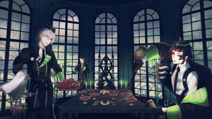 Rating: Safe Score: 3 Tags: all_male group male signed tagme_(artist) uniform vampire User: kyxor