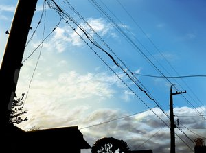 Rating: Safe Score: 67 Tags: building city clouds kinoto_(ruindivinity) original scenic silhouette sky User: STORM