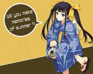 Rating: Safe Score: 20 Tags: black_hair gray_eyes japanese_clothes kimono long_hair murakami_suigun twintails User: marion