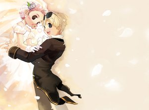 Rating: Safe Score: 3 Tags: dress flowers ragnarok_online sunglasses wedding wedding_attire User: Oyashiro-sama