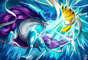 Rating: Safe Score: 33 Tags: animal mouse pikachu pointed_ears pokemon red_eyes sa-dui signed suicune tail User: mattiasc02