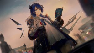 Rating: Safe Score: 28 Tags: arknights blue_eyes blue_hair book game_cg gloves halo horns huanxiang_heitu long_hair mostima_(arknights) tail wings User: Nepcoheart
