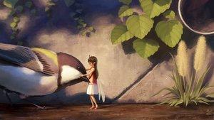 Rating: Safe Score: 124 Tags: animal bird dress fairy leaves long_hair noske original wings User: Flandre93