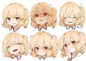 Rating: Safe Score: 64 Tags: blonde_hair blush fang flandre_scarlet gotoh510 ponytail red_eyes short_hair touhou vampire white User: otaku_emmy