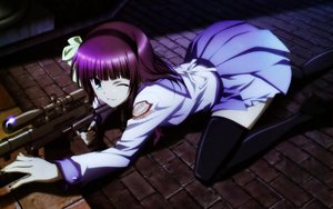 Rating: Safe Score: 107 Tags: angel_beats! gun nakamura_yuri weapon User: pantu