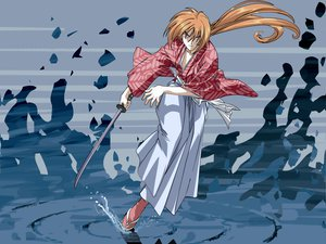 Rating: Safe Score: 0 Tags: all_male himura_kenshin japanese_clothes male rurouni_kenshin scar sword water weapon User: haru3173