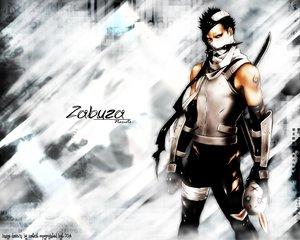 Rating: Safe Score: 6 Tags: all_male black_hair headband male mask momochi_zabuza naruto sword tattoo weapon User: Oyashiro-sama