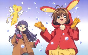 Rating: Safe Score: 6 Tags: card_captor_sakura clamp daidouji_tomoyo kero kinomoto_sakura scan User: RyuZU