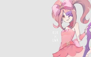 Rating: Safe Score: 28 Tags: bow cosplay ekita_xuan gray kill_la_kill little_witch_academia long_hair pink_hair red_eyes sucy_manbavaran wristwear User: RyuZU