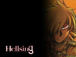 Rating: Safe Score: 6 Tags: blonde_hair blood hellsing red_eyes seras_victoria User: Oyashiro-sama
