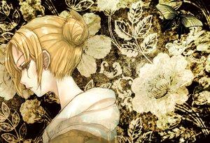 Rating: Safe Score: 62 Tags: annie_leonhardt black_eyes blonde_hair butterfly kuronekonero shingeki_no_kyojin short_hair signed yellow User: FormX