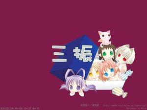 Rating: Safe Score: 1 Tags: bottle_fairy chiriri hororo kururu oboro pointed_ears rere sarara tokumi_yuiko User: Oyashiro-sama