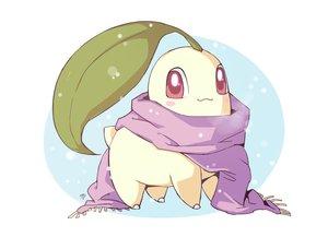 Rating: Safe Score: 20 Tags: cat_smile chikorita leaves milka_(milk4ppl) nobody pokemon scarf signed User: otaku_emmy
