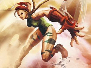 Rating: Safe Score: 55 Tags: blonde_hair braids cammy_white capcom hat scar street_fighter User: garypan