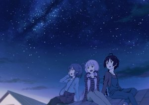 Rating: Safe Score: 31 Tags: luo_tianyi night sky stars tomato_(lsj44867) vocaloid vocaloid_china xingchen yuezheng_ling User: FormX