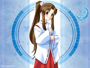 Rating: Safe Score: 4 Tags: japanese_clothes miko tagme towaduki_no_miko User: Oyashiro-sama