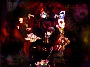 Rating: Safe Score: 37 Tags: all_male ciel_phantomhive doll drossel_keinz eyepatch hat kuroshitsuji male mask puppet purple_eyes User: cerezo-kuran