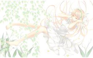 Rating: Safe Score: 21 Tags: ayase_hazuki barefoot long_hair pink_hair User: Maboroshi
