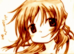Rating: Safe Score: 8 Tags: godees hidamari_sketch miyako monochrome User: SciFi