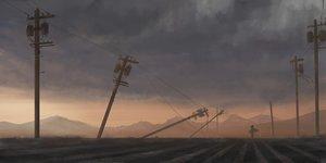 Rating: Safe Score: 40 Tags: clouds izna_(iznatic) original scenic sky sunset User: mattiasc02