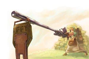 Rating: Safe Score: 21 Tags: final_fantasy final_fantasy_tactics gun mobile_suit_gundam weapon User: lost91colors