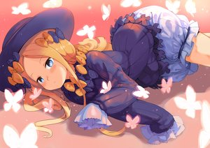 Rating: Safe Score: 21 Tags: abigail_williams_(fate/grand_order) aqua_eyes blonde_hair bloomers blush bow butterfly fate/grand_order fate_(series) goth-loli hat loli lolita_fashion long_hair tagme_(artist) User: luckyluna