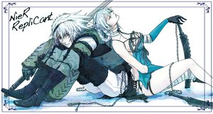 Rating: Safe Score: 33 Tags: kaine nier nier_(character) User: Tensa
