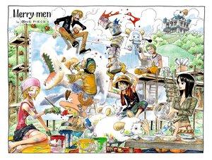 Rating: Safe Score: 26 Tags: animal black_hair blonde_hair building clouds gloves group hat jpeg_artifacts long_hair male monkey_d_luffy nami nico_robin oda_eiichirou one_piece roronoa_zoro sanji short_hair tony_tony_chopper usopp User: Oyashiro-sama