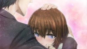 Rating: Safe Score: 49 Tags: blue_eyes blush brown_hair game_cg huke jpeg_artifacts long_hair makise_kurisu okabe_rintarou steins;gate User: Katsumi