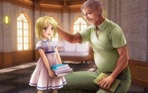 Rating: Safe Score: 12 Tags: blonde_hair dress higurashi_no_naku_koro_ni loli moonknives tanashi_miyoko User: gnarf1975
