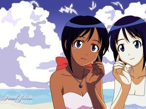 Rating: Safe Score: 12 Tags: beach dark_skin love_hina maehara_shinobu swimsuit User: Oyashiro-sama