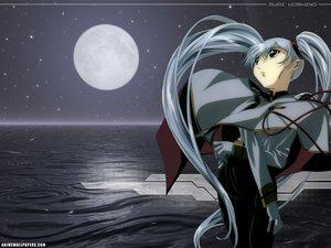 Rating: Safe Score: 0 Tags: gray_hair hoshino_ruri long_hair martian_successor_nadesico moon night stars twintails water watermark User: Oyashiro-sama