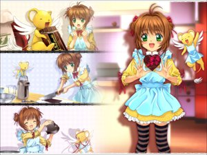Rating: Safe Score: 20 Tags: card_captor_sakura kero kinomoto_sakura lolita_fashion moonknives User: 秀悟