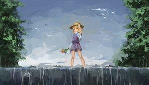 Rating: Safe Score: 7 Tags: flowers hat koog moriya_suwako skirt touhou User: Flandre93