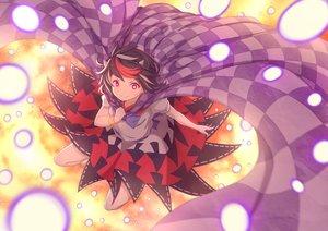 Rating: Safe Score: 16 Tags: black_hair bow cape dress horns kijin_seija red_eyes short_hair touhou zeolch User: RyuZU