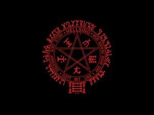 Rating: Safe Score: 13 Tags: black hellsing logo User: Oyashiro-sama